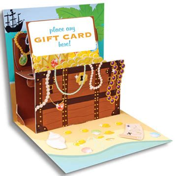 pop  treasures gift card holder treasure chest home page
