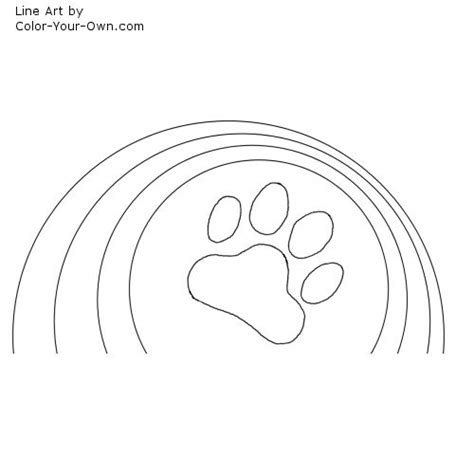 coloring page tiger paw free coloring pages of tiger paw