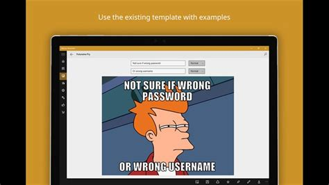 Meme Center Mobile App - developer submission meme generator a new universal