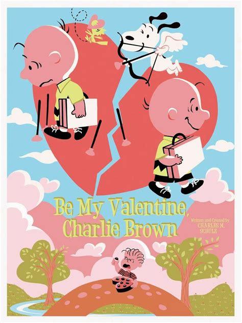 valentines brown be my brown charles m schulz