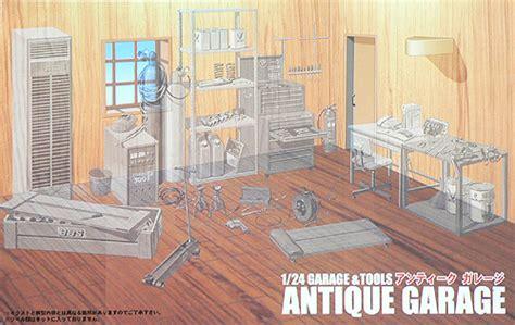Fujimi 1 24 Gt 12 Antique Garage modellbau klar de fujimi garage antik 1 24 bausatz 11104