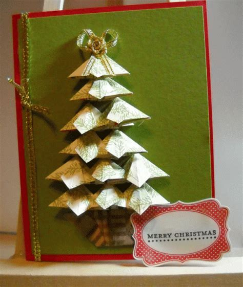 tea bag folding christmas tree by fmcrafter at