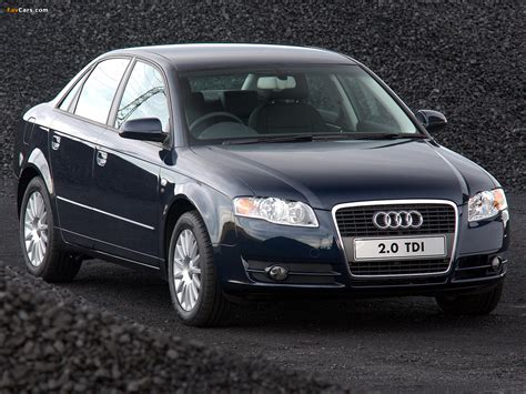 Pictures of Audi A4 2.0 TDI Sedan ZA spec B7,8E (2004?2007) (1280x960)