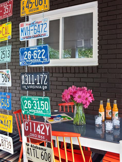what to do with license plates when selling a car in illinois 25 new ways to use your old stuff interior design styles