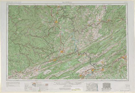 virginia topographic map bluefield topographic maps wv va ky usgs topo