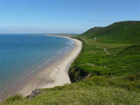 Rhossili Bay Gower Peninsula Best Beach Gower Holidays Rhossili Bay Cottages
