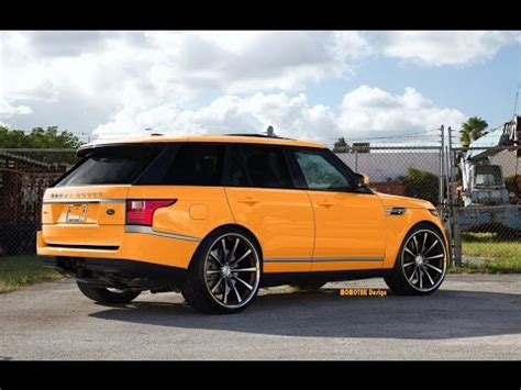 customized range rover range rover sports with customize kit