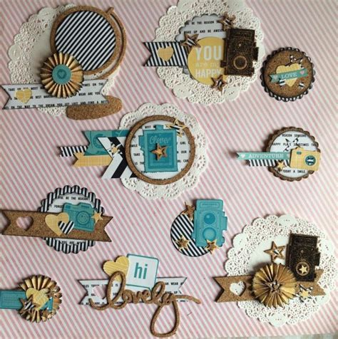 Handmade Embellishments For Scrapbooking - 25 best ideas about scrapbook embellishments on