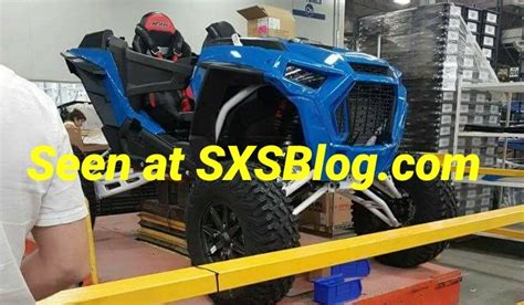 2018 rzr rumors 2018 polaris rzr spied
