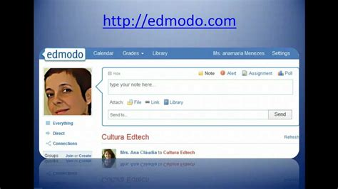 edmodo youtube using edmodo with students 20 ideas youtube