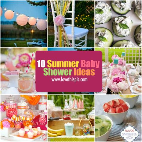 Summer Baby Shower Ideas 10 summer baby shower ideas