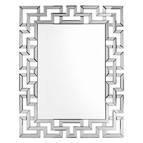 santorini mirror rectangular mirrors decor z gallerie