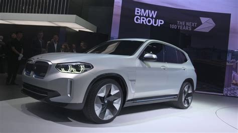 Bmw Electric Suv 2020 by Bmw X3 Electric Suv Ix3 Coming In 2020