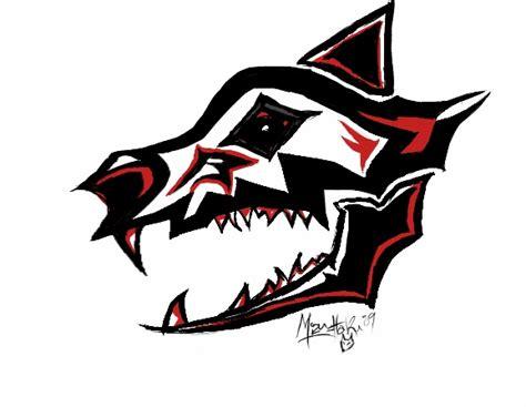native american wolf totem tattoo