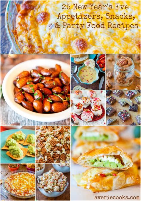 new year pastry recipe 25 new year s appetizers snacks and food