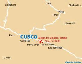 cusco maps and orientation cusco peru