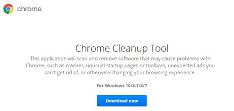 reset tool chrome reset chrome browser to the default settings