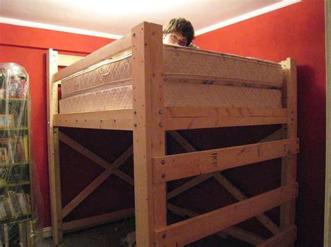 diy loft bed copycatfilms bunk beds bunk beds small