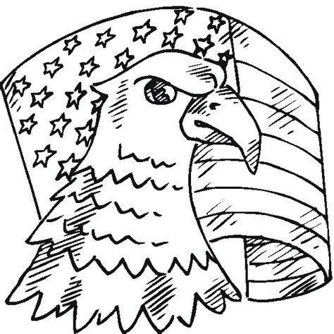 Patriotic Coloring Pages Printable free patriotic coloring pages from sherriallen
