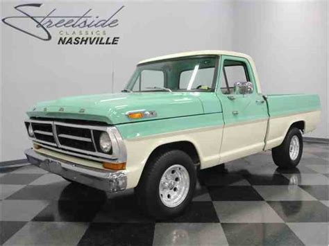 1970 Ford F100 For Sale by 1970 Ford F100 For Sale On Classiccars