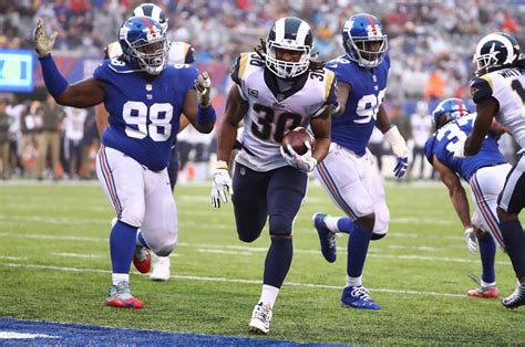 rams highlights los angeles rams humiliate new york giants 51 17 highlights