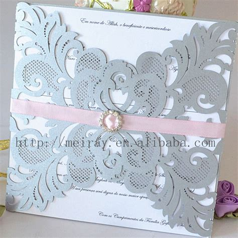 Quality Card For Wedding Invitations by Compare Prices On Silver Wedding Invitations