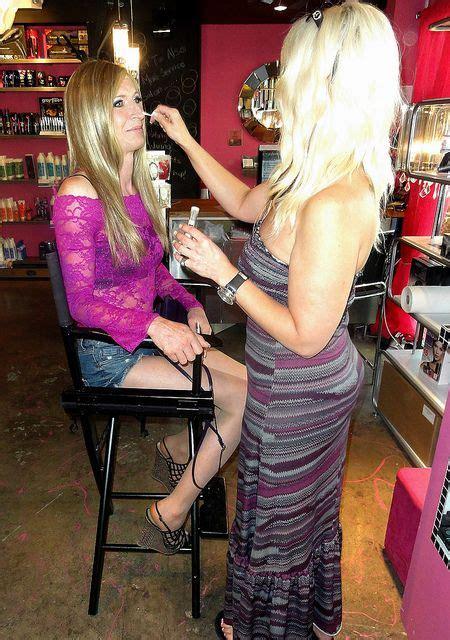 fem boys at the hair salon beauty salon gender salons and tgirls