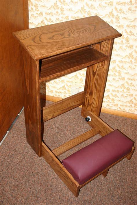 prayer bench kneeler prayer kneeler by trabiman lumberjocks com