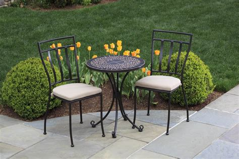 outdoor metal furniture a well furnished garden benches to enjoy the beautiful summer afternoon motiq home