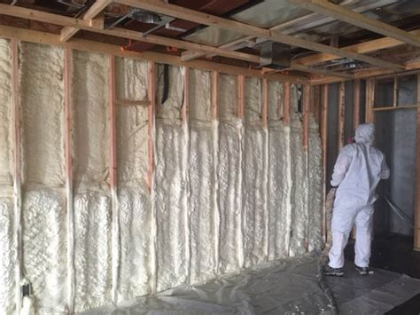 spray foam insulation basement walls spray insulation basement walls home design inspirations