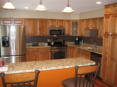 cherry cabinets kitchen colors with white cabinets