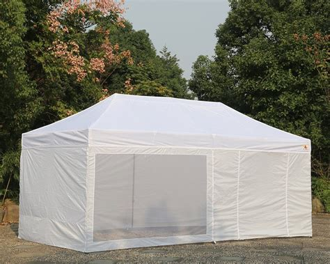instant gazebo abccanopy 10 x 20 ez pop up canopy tent