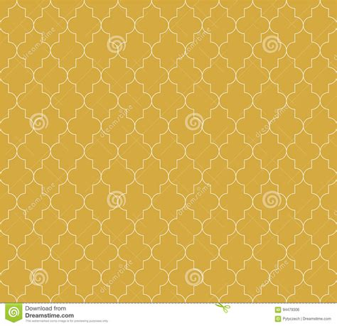 ornamental seamless pattern vector abstract background moroccan islamic seamless pattern background in golden