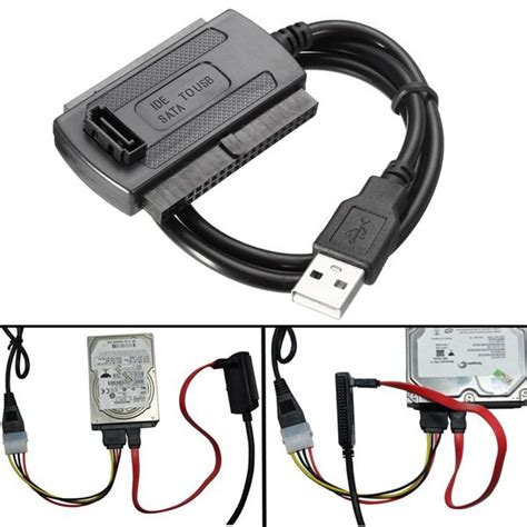 Drive Converter Cable usb 2 0 to sata ide data drive cable for hdd power