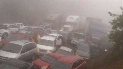 accidents involving fog