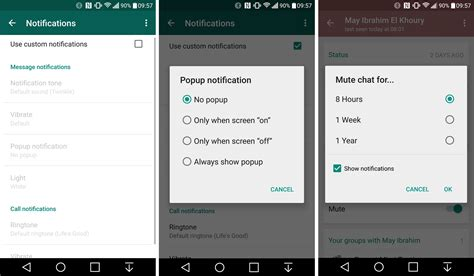 updates for android whatsapp updates bring notifications data usage and interface changes android authority