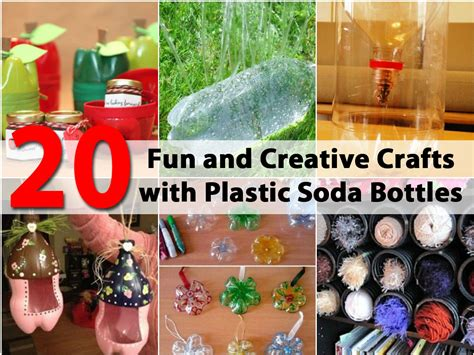 Plastic Bottle L Diy 20 And Creative Crafts With Plastic Soda Bottles Diy