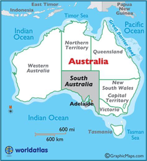 south australia map south australia map geography of south australia map