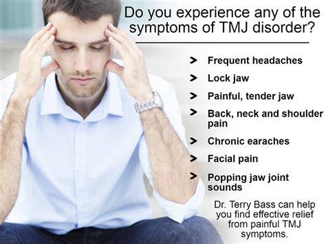 what are the causes and symptoms of jaw pain ehow tmd tmj oklahoma city jaw pain