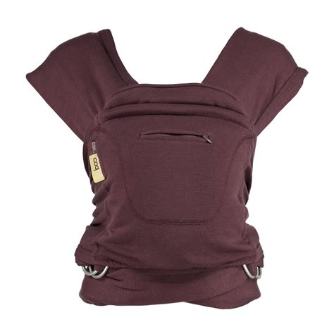 9in1 Ultimate Baby Carrier Gray Purple caboo cotton multi position carrier