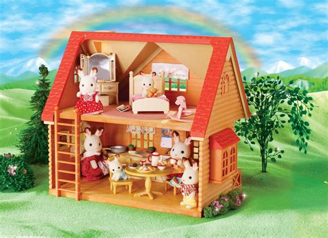 toys r us house calico critters peony in