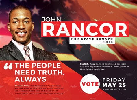 powerpoint templates for election posters 23 political flyer templates free premium download