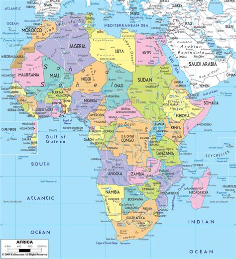 map of africa with countries labeled r 243 żne all countries flags and capitals hd