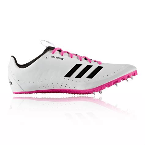 athletic spikes shoes adidas sprintstar womens white athletic running track