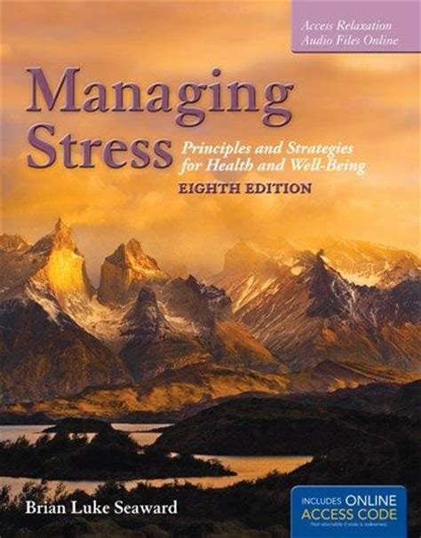 Pdf Managing Stress Principles Strategies Well Being by Managing Stress Principles And Strategies For Health And