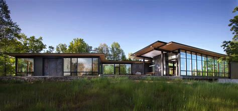 modern lake house opens towards the blue ridge mountains modern lake house opens towards the blue ridge mountains