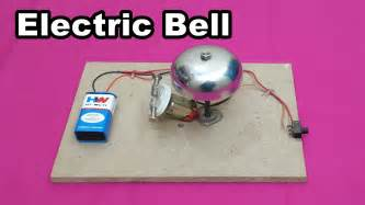 easy from home how to make a simple electric bell at home easy
