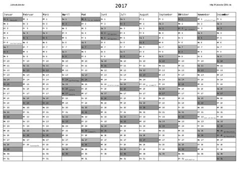 Kalender 2017 Eintragen Jahreskalender 2017 Freeware De