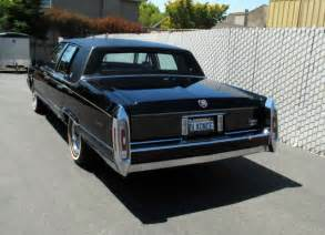 1990 Cadillac Brougham D Elegance For Sale 1990 Clean Cadillac Brougham D Elegance Black 5 7l