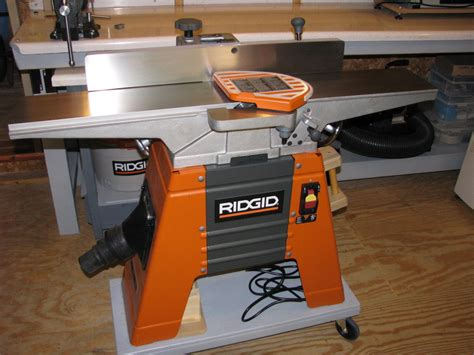 ridgid woodworking tools jet 707410 10 benchtop jointer planer jointer planer